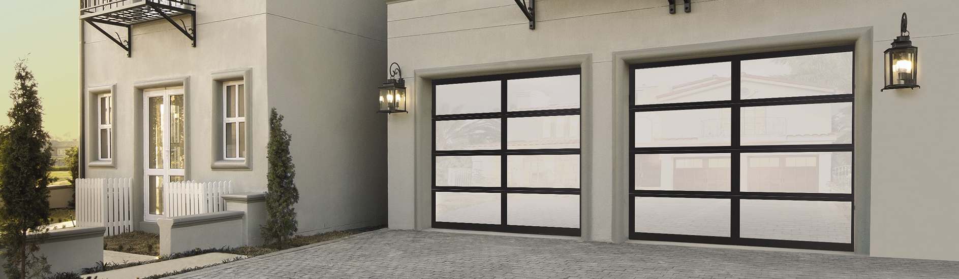 Aluminum Glass Garage Door 8850